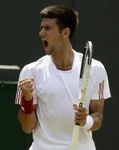 2009溫布頓-0624-Djokovic-吼叫4s.jpg