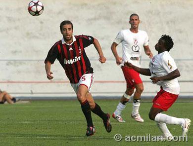 Milan-20090714-友誼賽-Flamini.jpg