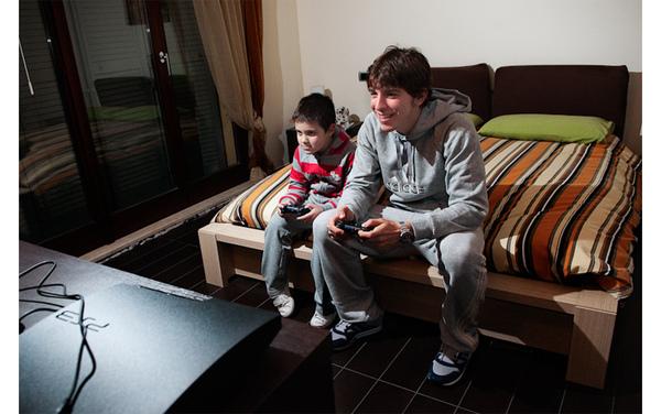 Paloschi-和弟弟Filippo