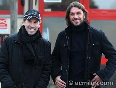 Maldini-201002-Milanello-巴雷西隊長.jpg