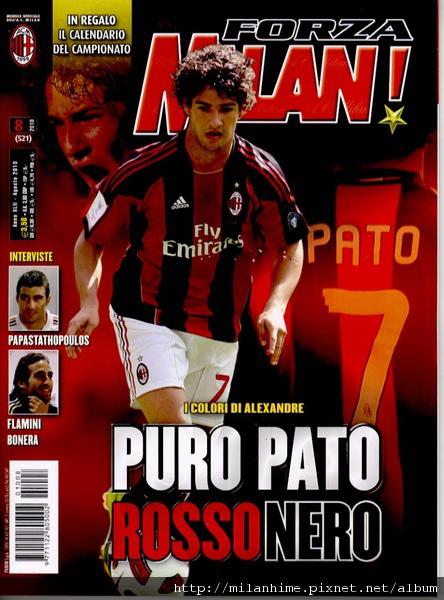 ForzaMilan-201008cover-Pato.jpg