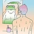 你們看清楚了沒?我們一直都是青蛙沒錯。