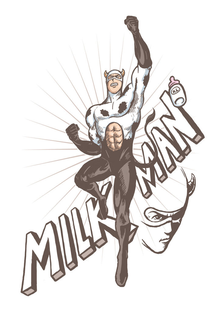 MILK MAN T-shirt OK