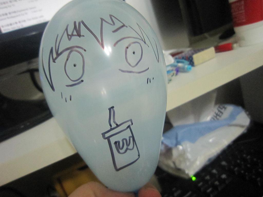 黑籃氣球001