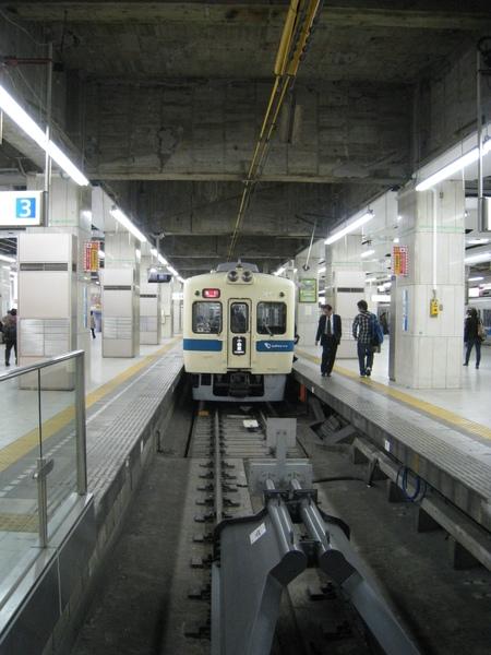 今天要坐的小田急電鐵