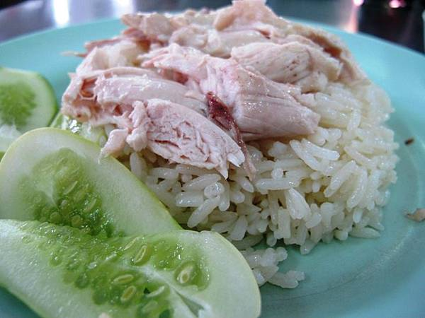 泰國曼谷 水門市場 海南雞飯 - 海南雞飯