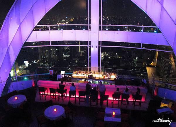 2013泰國曼谷 高空Bar - Red Sky (1)