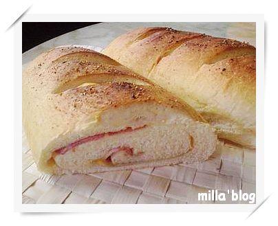 德式燻肉麵包