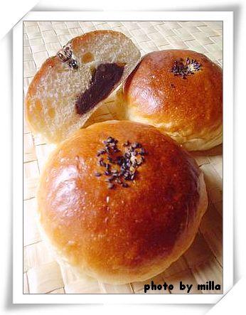 乳酪甜麵團(2) --- 紅豆麵包