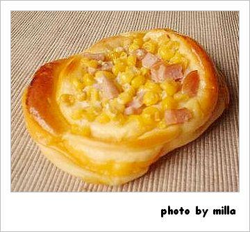 玉米熱狗鹹麵包