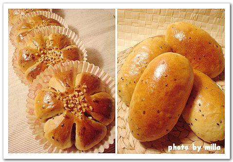 黑芝麻地瓜麵包體