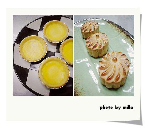 酥皮蛋塔 & 廣式月餅