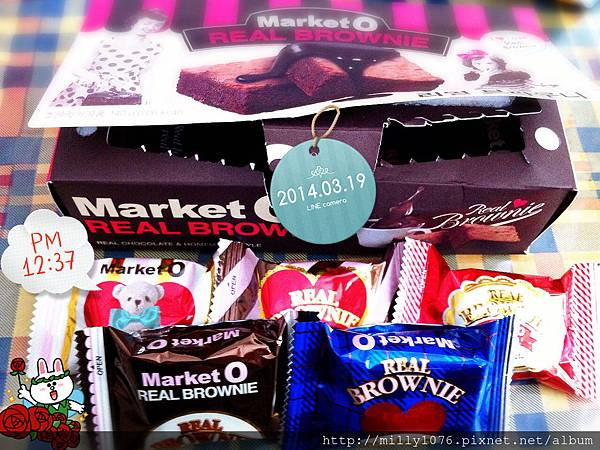 Market O 布朗尼蛋糕