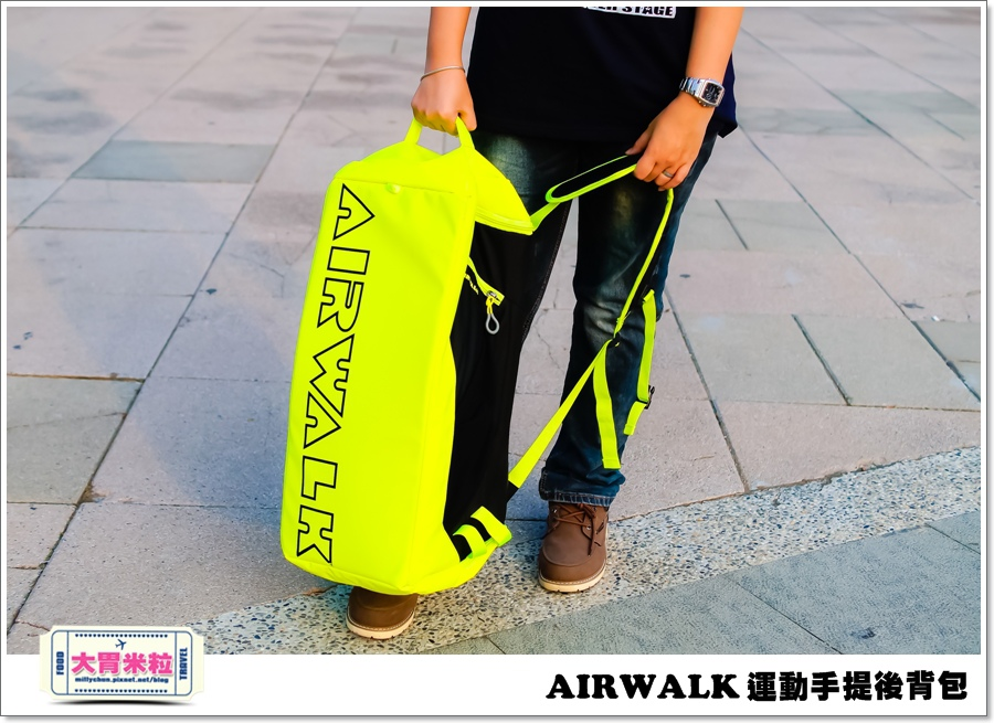 AIRWALK 運動手提後背包@大胃米粒00009.jpg
