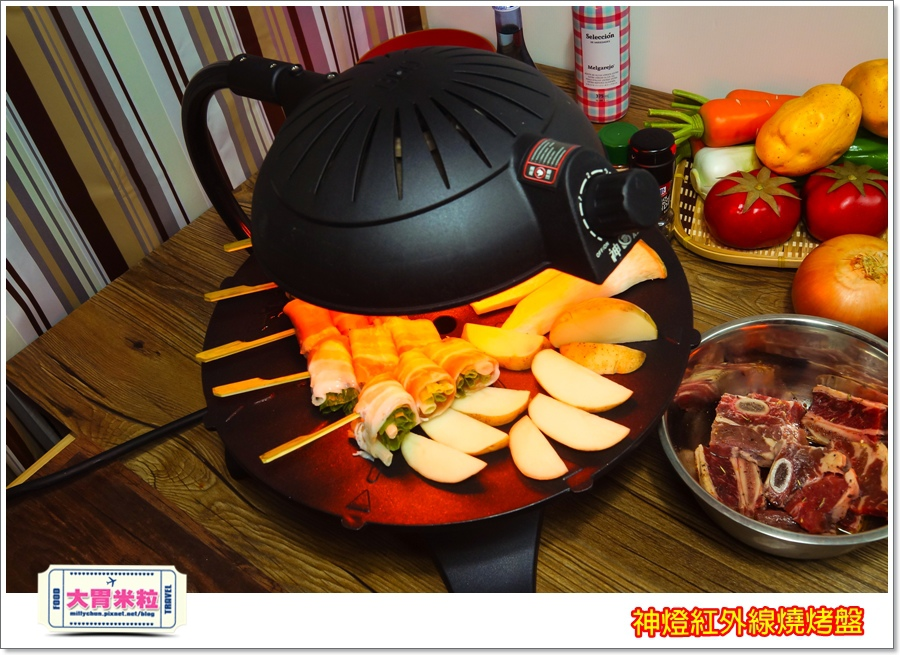 神燈紅外線燒烤盤@大胃米粒00055.jpg
