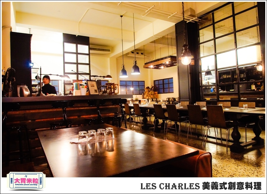 高雄Les Charles美義式餐廳@查爾斯廚房@大胃米粒0009.jpg