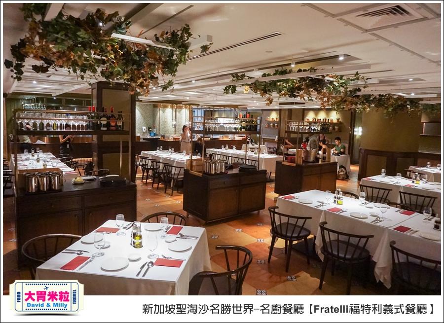 新加坡聖淘沙名勝世界-名廚餐廳@Fratelli福特利義式餐廳@大胃米粒0003.jpg