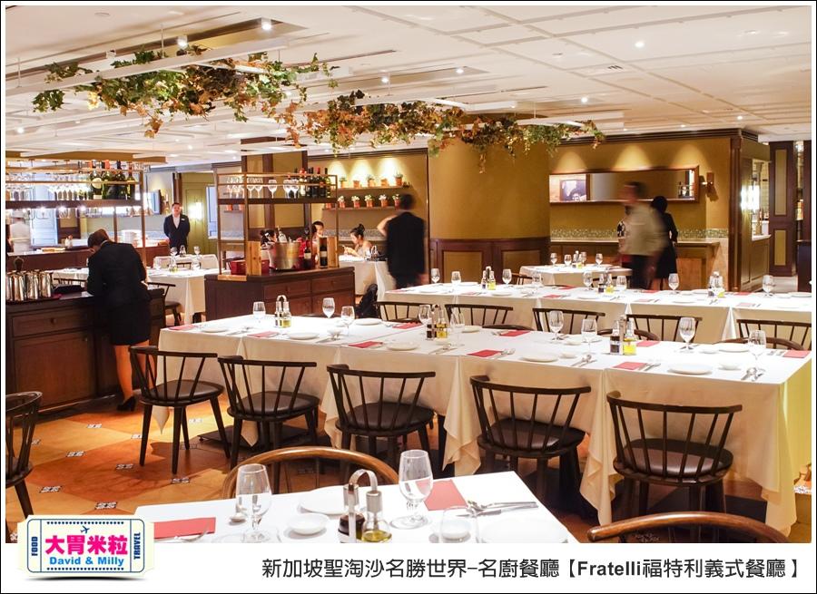 新加坡聖淘沙名勝世界-名廚餐廳@Fratelli福特利義式餐廳@大胃米粒0004.jpg