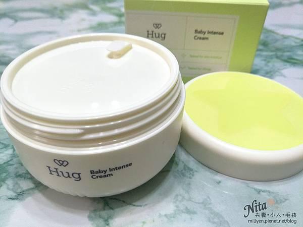 育兒保養品推薦韓國Hug-寶寶修護舒緩霜、100%蘆薈舒緩爽身凝膠乾癢、脫屑,舒緩滋潤柔嫩肌膚,孕婦也能使用8.jpg