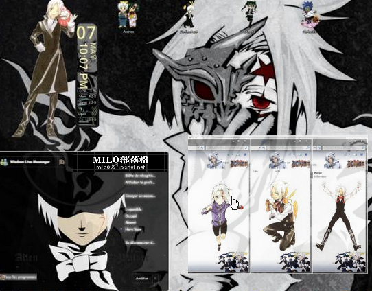 D.Gray Man V2 W7 Theme