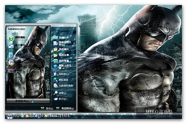 遊戲之蝙蝠俠 milo