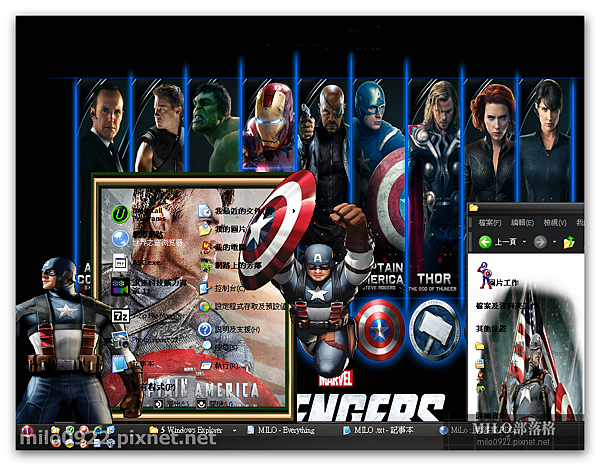 The Avengers V3 By MILO BLOG   Captain America  milo0922.pixnet.net_14h20m56s