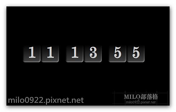 CLOCKr 簡易電子鐘milo0922.pixnet.net__009_