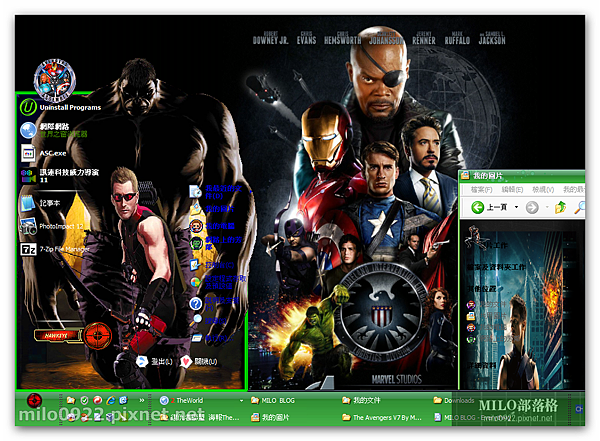 The Avengers V7 By MILO BLOG   _Hawkeye     milo0922.pixnet