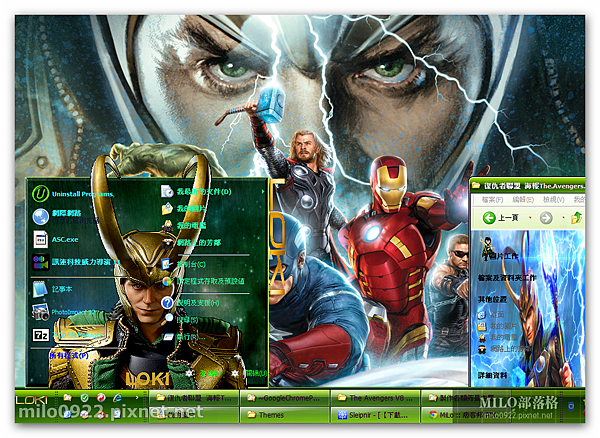 The Avengers V8 By MILO BLOG   _Loki  milo0922.pixnet