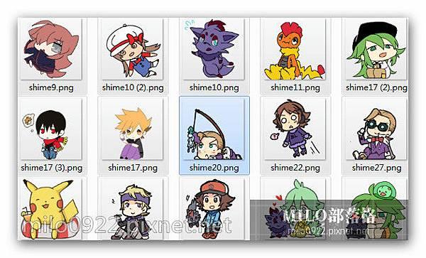 14套 神奇寶貝 【 口袋妖怪 】  14套    Pokémon神奇寶貝     桌面精靈  milo0922.pixnet.net__001__001