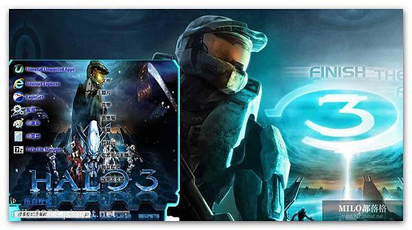 Theme W7 Halo 3.By WO  milo0922.pixnet.net__046__046