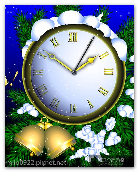 聖誕時鐘   milo0922.pixnet.net__018_