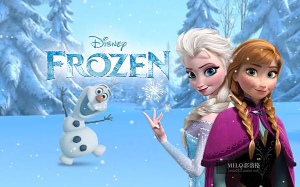 Disney_冰雪奇緣螢幕保護
