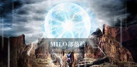 七龍珠元氣彈動態桌布 milo0922.pixnet (2)