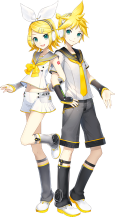 Kagamine_Rin_and_Len_V4X