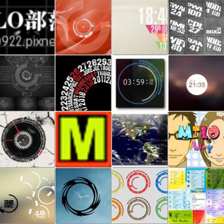 60套 各類 特殊CLOCK 時鐘 及小工具 Raimmeter 集合包MILOMILOMILOMILOMILO