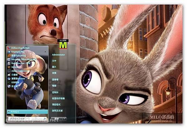 電影瘋狂動物城可愛win7   milo0922.pixnet.net__053_00538