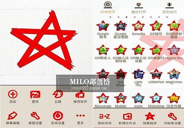 redstar Theme GO  milo0922.pixnet