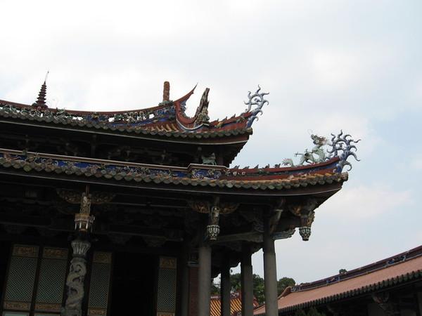 大成殿屋頂