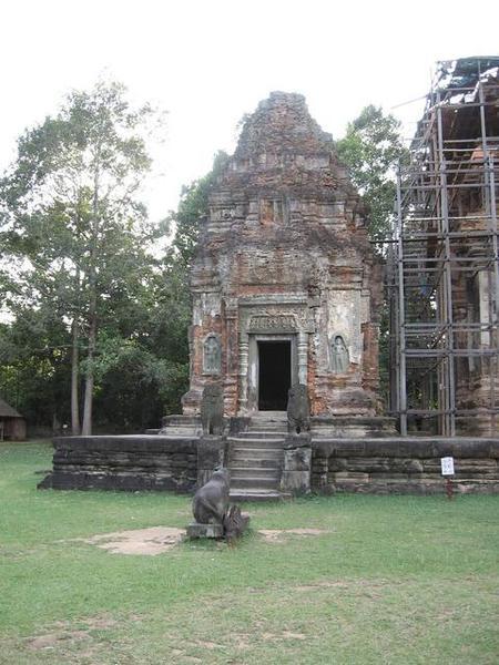 Preah Ko六座塔中的其中一座