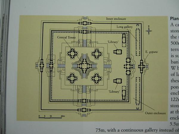 Ta Keo塔高神殿平面圖