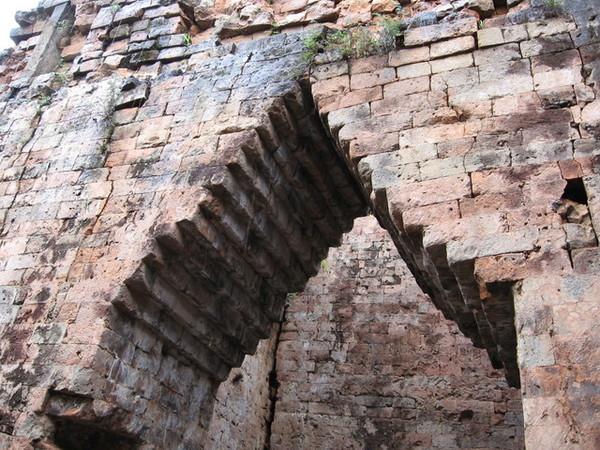 吳哥的塔的建築方式