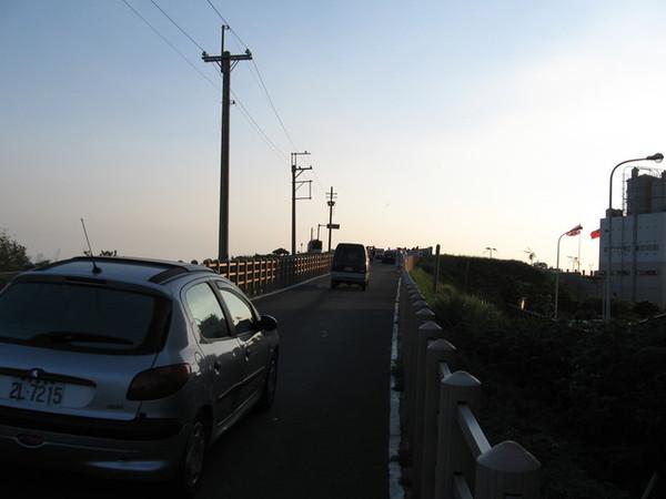 後來想去南寮看日落