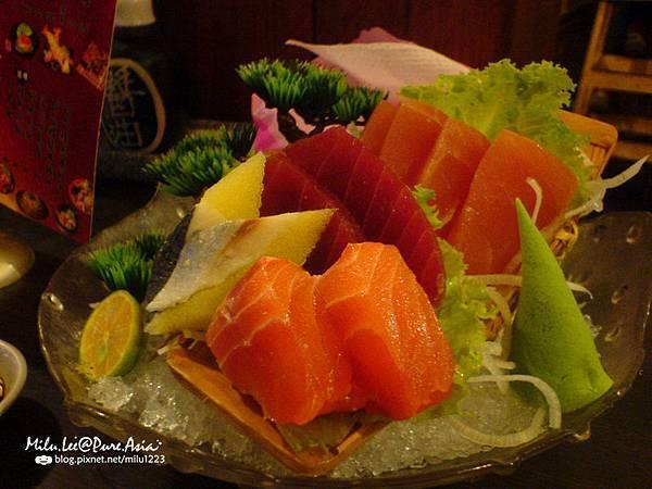 八條壽司-生魚片