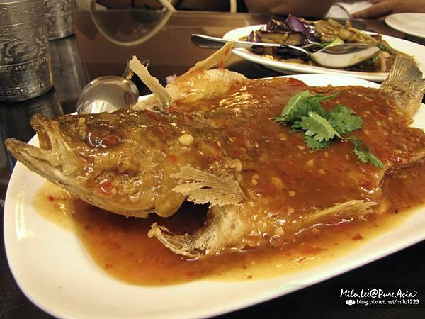 雲南小鎮-酸辣魚