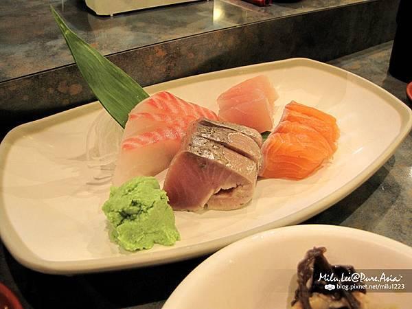 小春日本料理-綜合生魚片