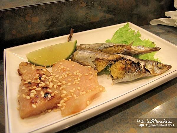 小春日本料理-烤柳葉魚&烤味噌魚