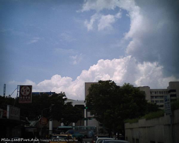 宮崎駿積雲