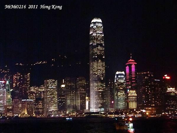 香江夜景啦!