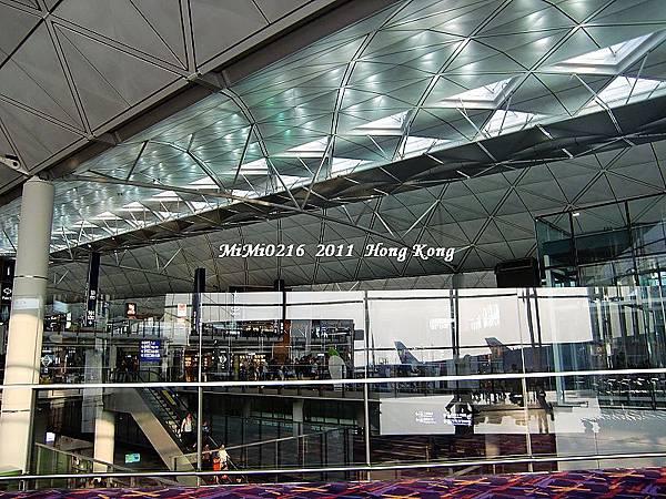 機場一景。